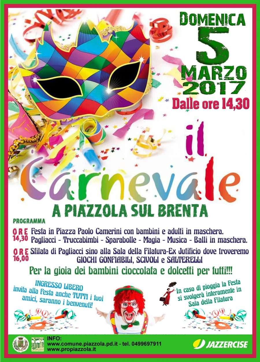 Carnevale a piazzola propiazzola for Fiera piazzola sul brenta 2017