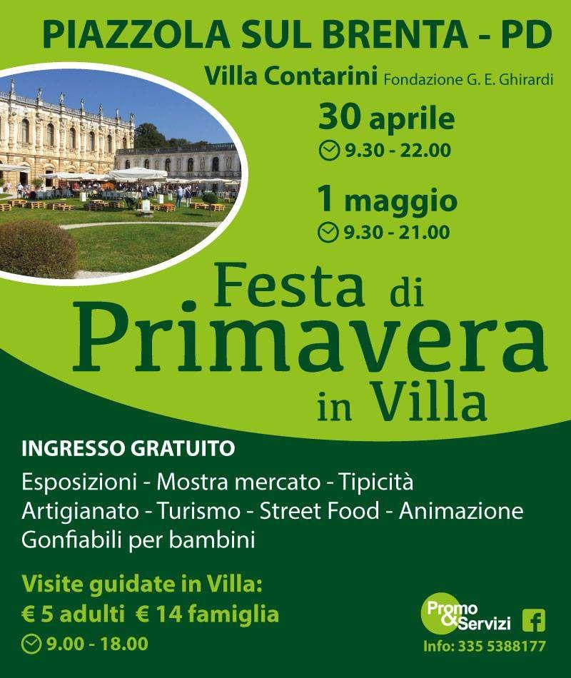 Festa di primavera in villa propiazzola for Fiera piazzola sul brenta 2017