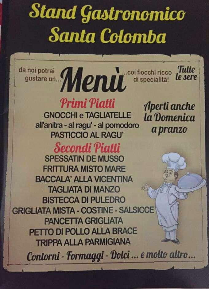 Immagine dell'offerta dello stand gastronomico