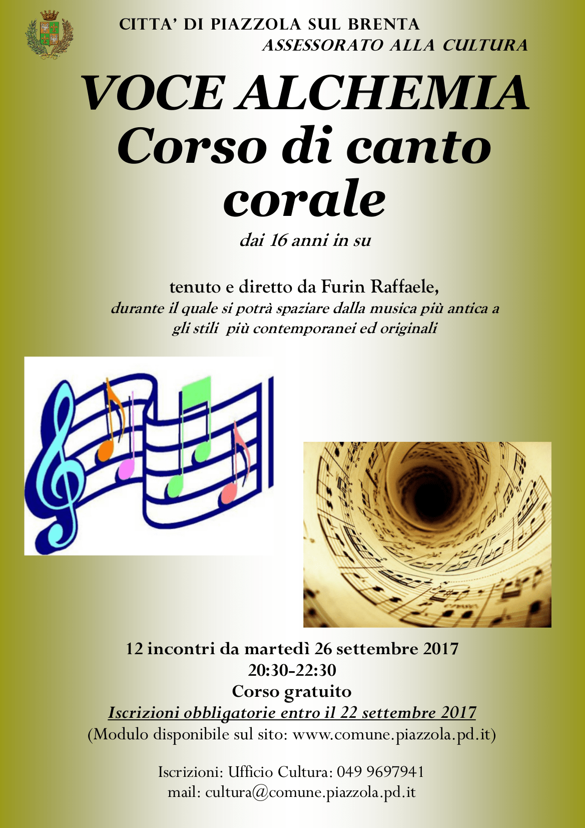 Corso di canto corale