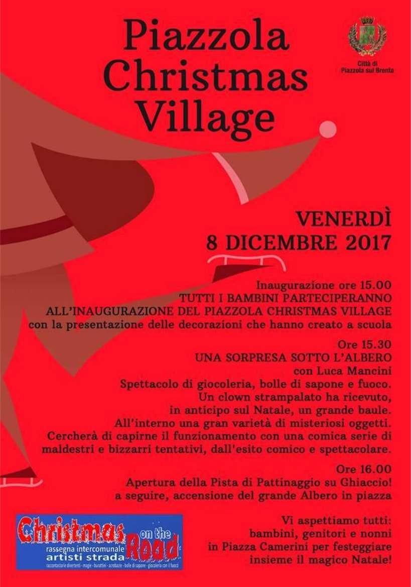 Immagine grande inaugurazione Christmas Village