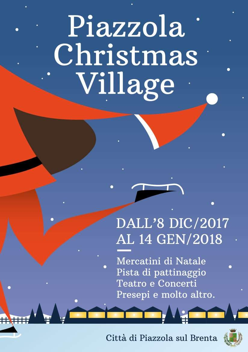 Locandina Christmas Village 2017