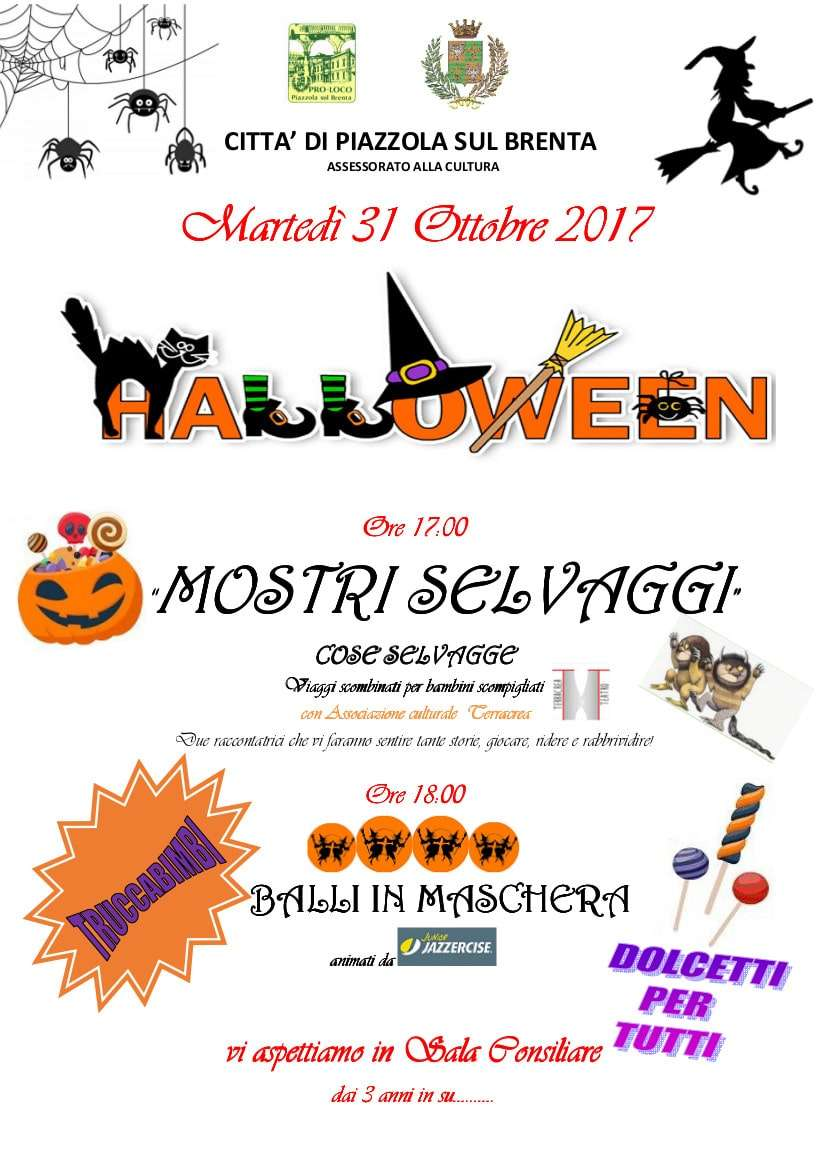 Locandina Halloween 2017