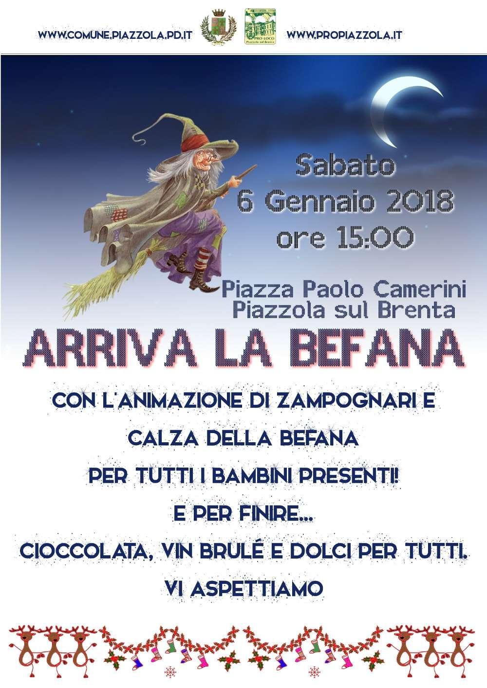 Festa della befana propiazzola for Fiera piazzola sul brenta 2017
