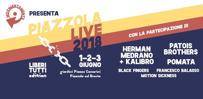 Immagine piazzola live 2018