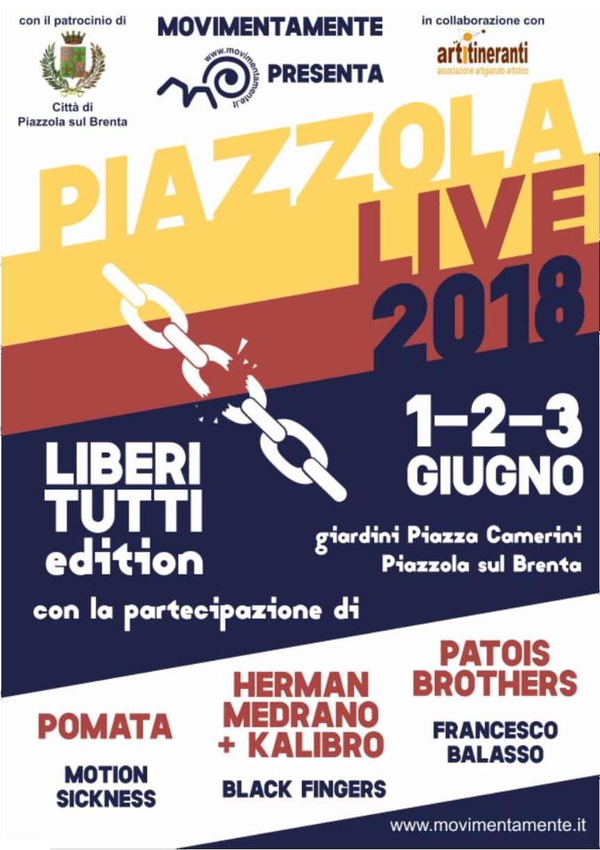 Locandina Piazzola live