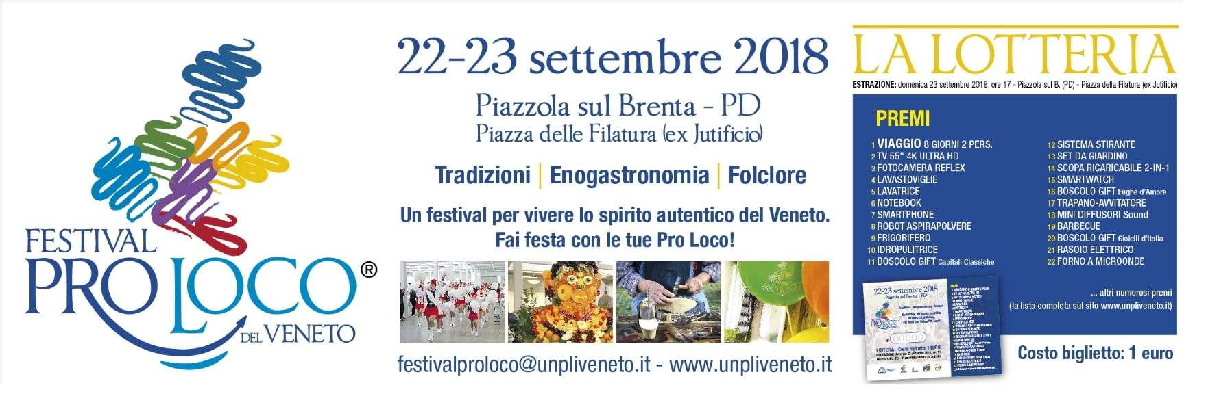 Banner festival pro loco