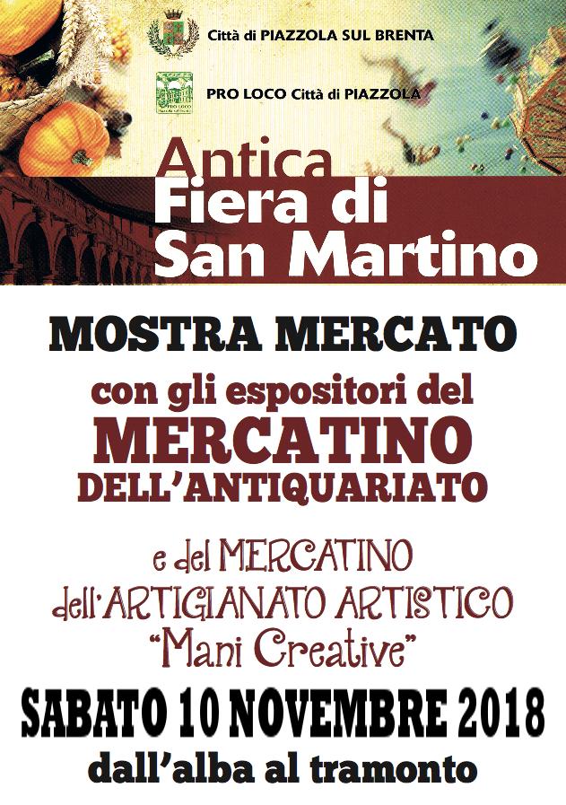 Edizioni straordinarie: mercatino dell'antiquariato e Mani creative
