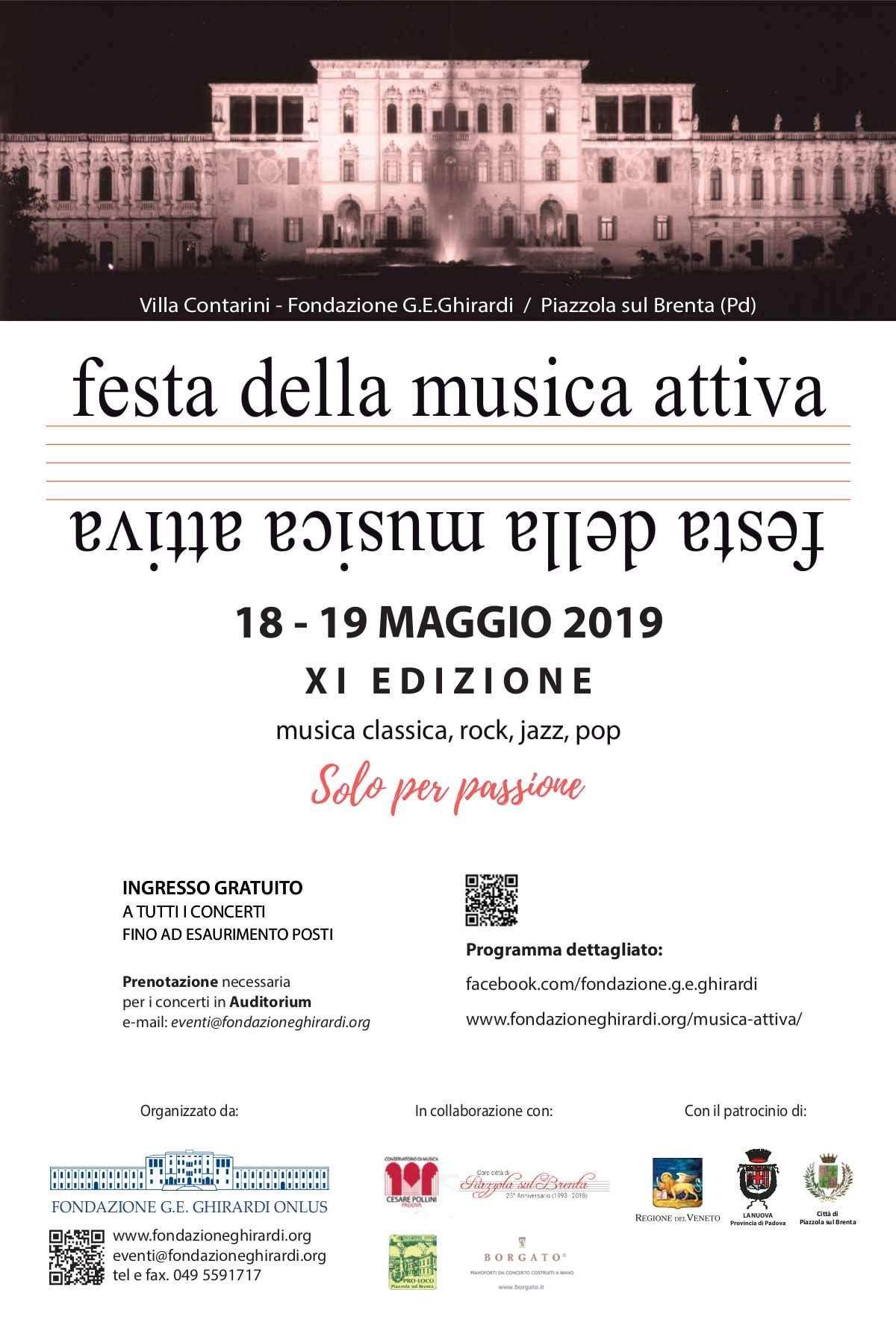 festa della musica attiva 2019