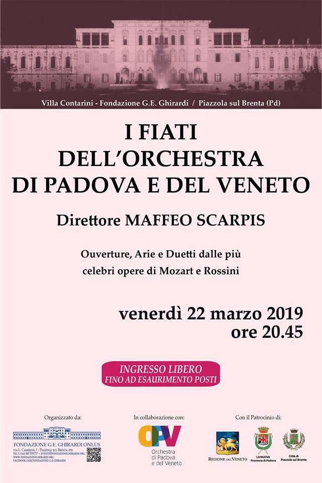 i fiati dell'orchestra di Padova e del Veneto