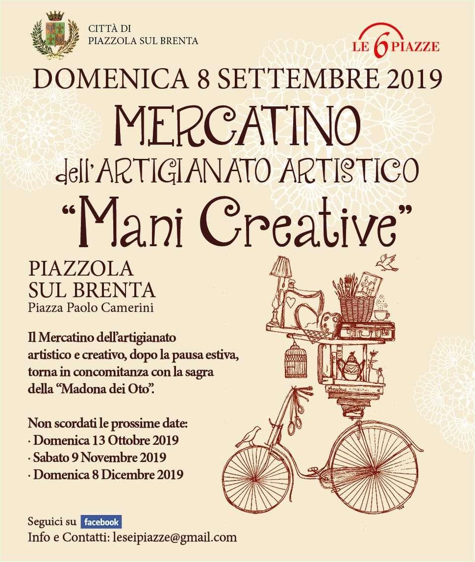 Programma Mani Creative settembre 2019