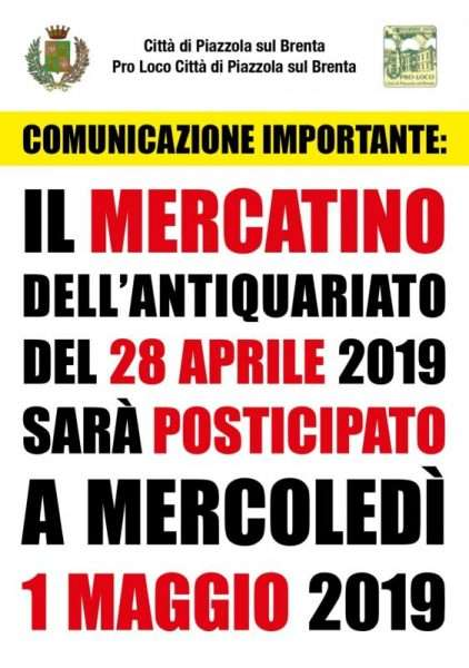 Mercatino 1 maggio