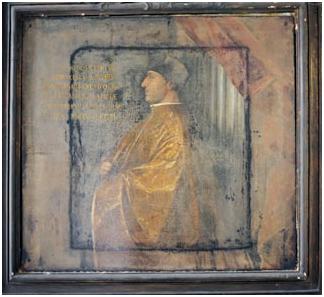 Francesco Novello da Carrara, ritratto dell'auditorio