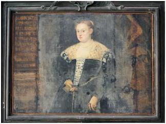 Maria da Carrara, ritratto dell'auditorio