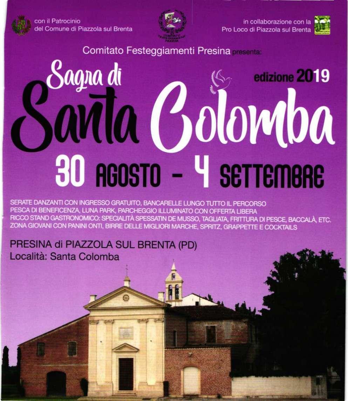Sagra di Santa Colomba 2019