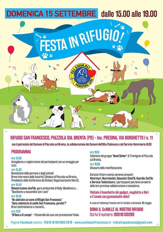 immagine locandina Festa in Rifugio