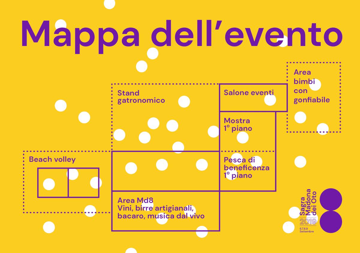 Mappa dell'evento