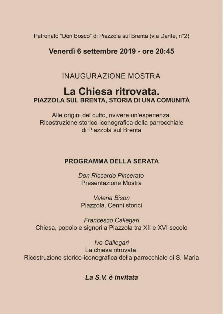 immagine programma della mostra