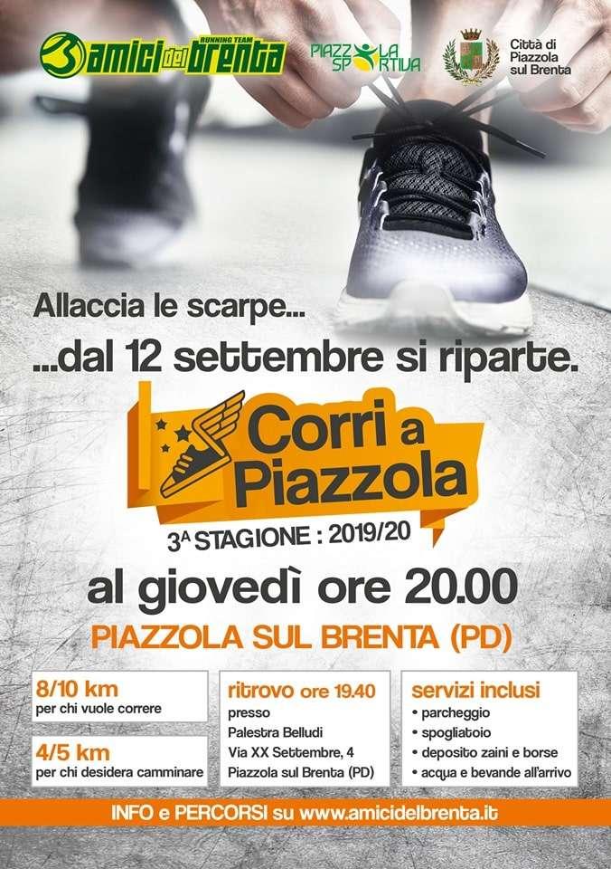 Corri a Piazzola