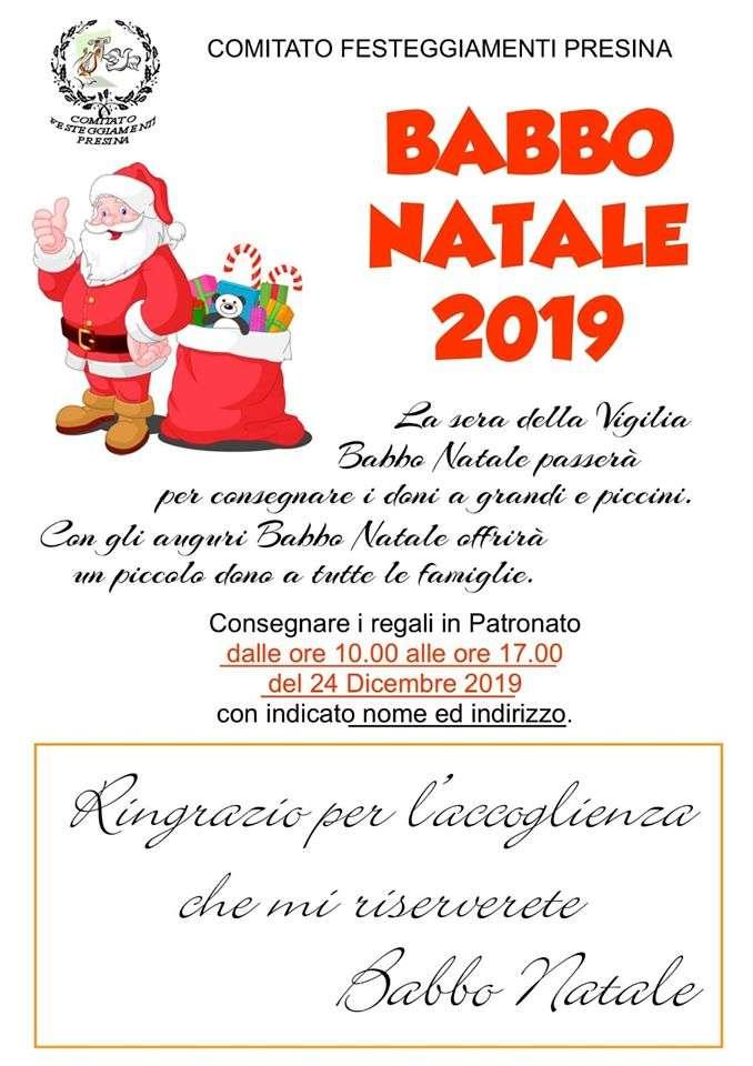 Babbo Natale a Presina