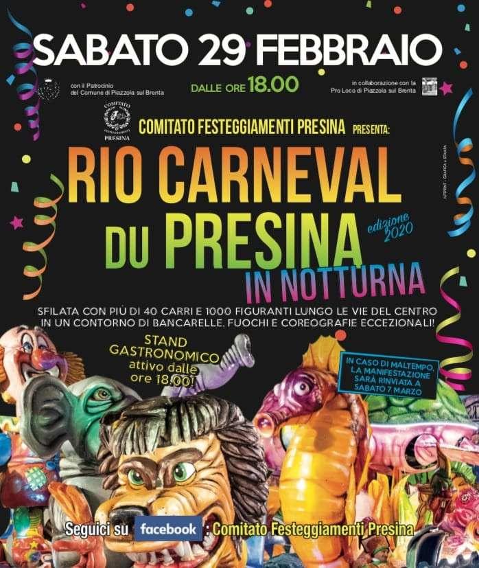 Rio Carneval du Presina