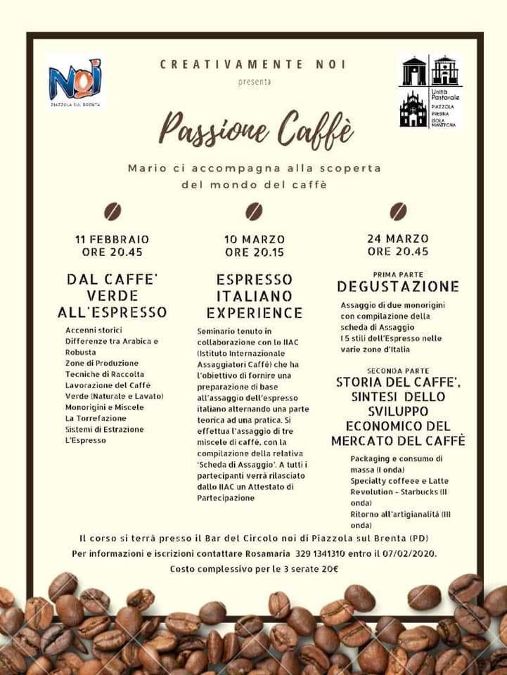 incontri passione caffè