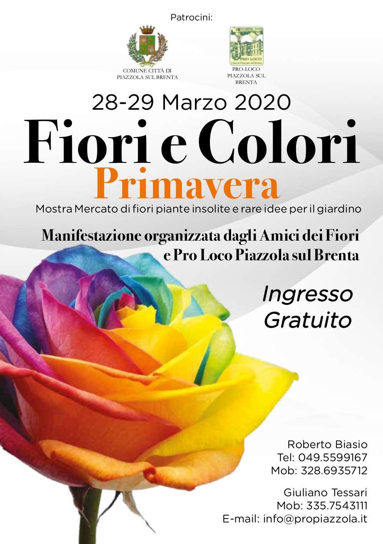 Fiori e Colori - Primavera 2020
