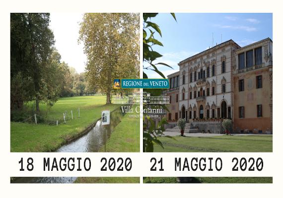 Riapertura Villa Contarini
