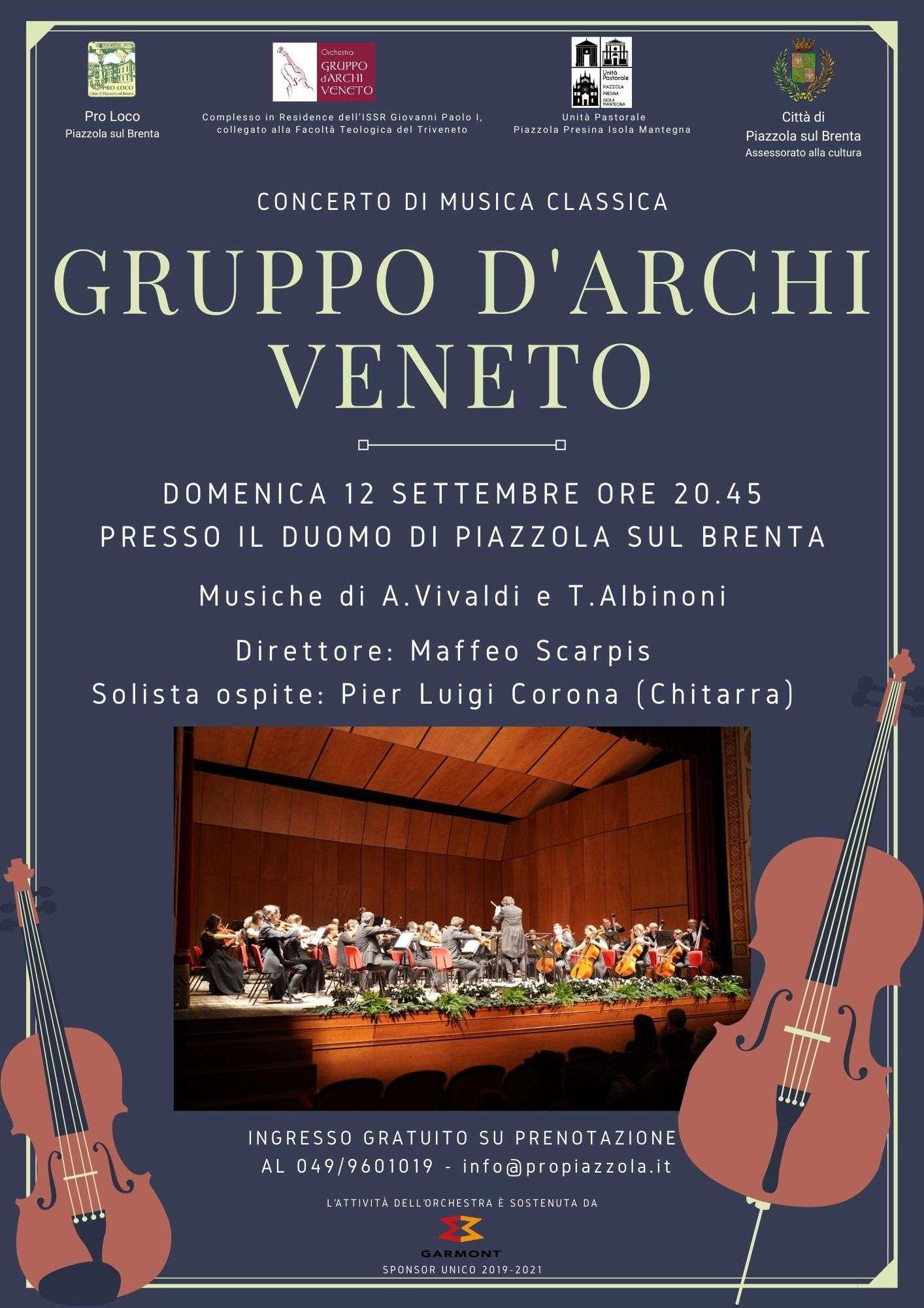 Locandina concerto di musica classica