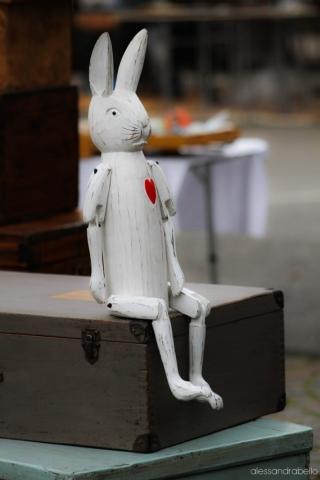 Coniglio in legno