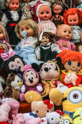 Bambole e pelouche