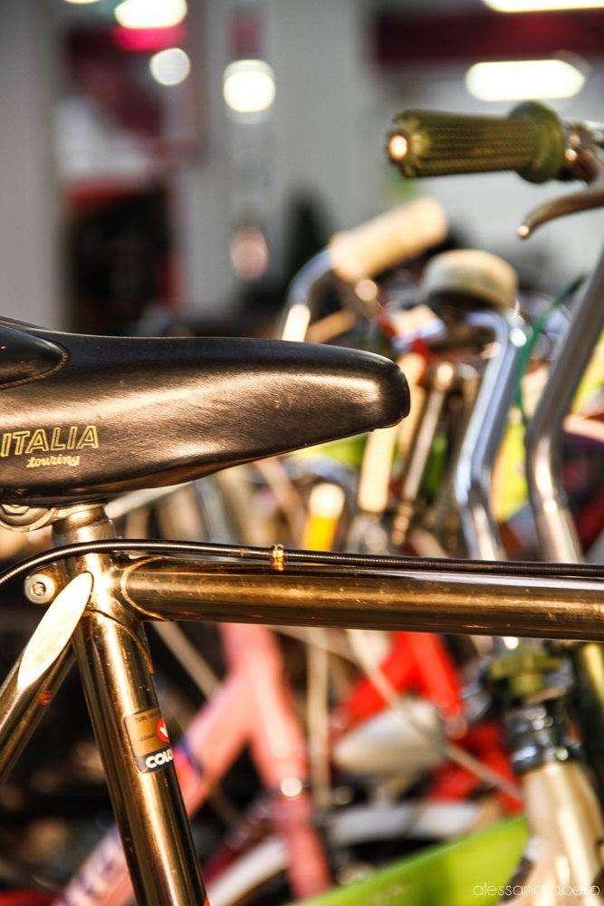 particolare di bicicletta