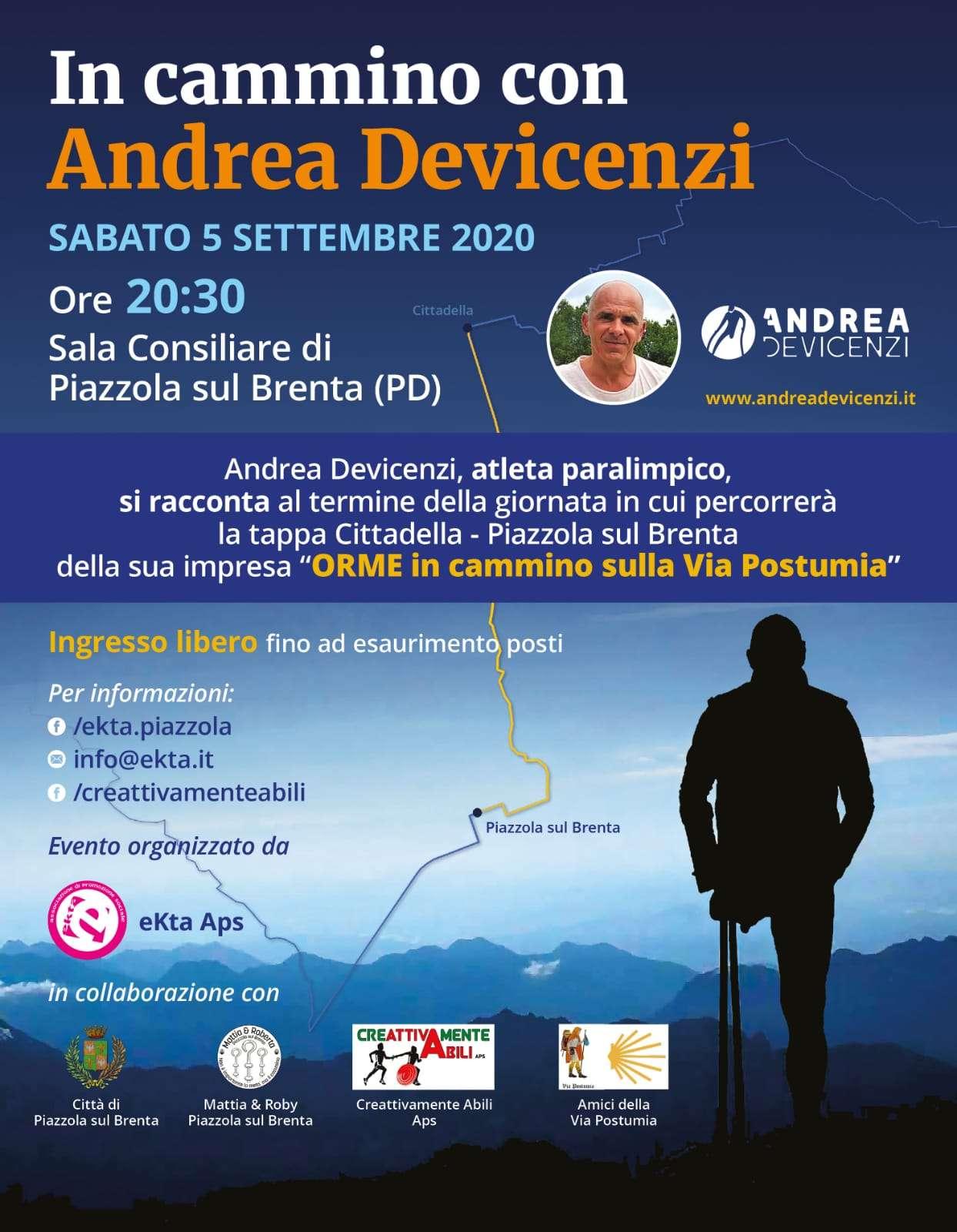 In cammino con Andrea