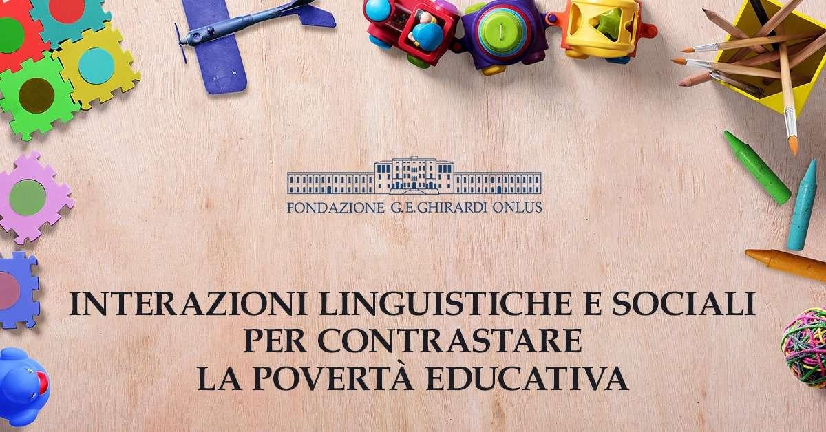 Webinar sulla povertà educativa