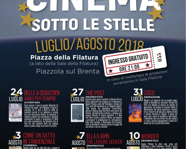 Cinema sotto le Stelle 2018