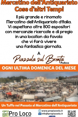 MERCATINO DELL'ANTIQUARIATO